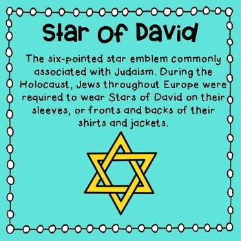 Number the Stars:  Jewish Terminology