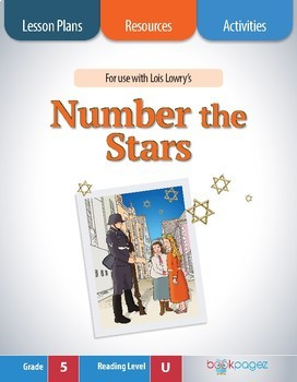 Number the Stars Lesson Plan (Book Club Format - Determine Theme) (CCSS)