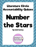 Number the Stars: Literature Circle Accountability Quizzes
