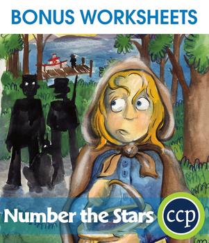 Number the Stars - Literature Kit Gr. 5-6 - BONUS WORKSHEETS