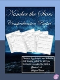 Number the Stars Literature Unit Comprehension Worksheets