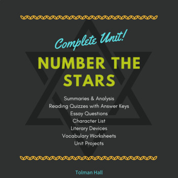 Number the Stars Literature Unit Study
