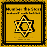 Number the Stars Abridged Novel Study: vocabulary, compreh