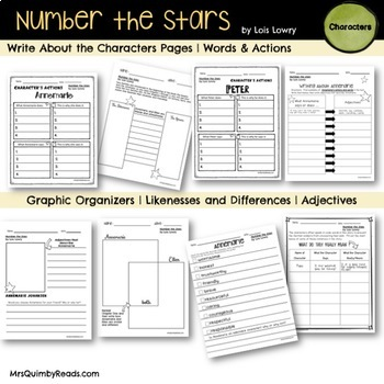 Number the Stars | Lois Lowry | Book Companion and Writing Prompts