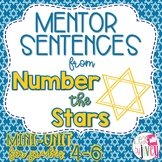 Number the Stars Mentor Sentences & Interactive Activities