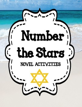 Number the Stars - Novel Activities Unit