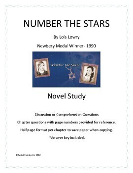 Number the Stars Novel Discussion Questions