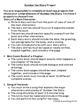 Number the Stars-Novel Guide and Project--Level U-Grades 4-6