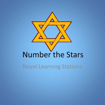 Number the Stars Novel Learning Stations