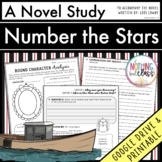 Number the Stars Novel Study Unit Distance Learning