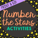 Number the Stars Novel Unit Study Activities, Book Compani
