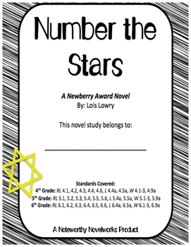 Number the Stars Novel Study / Answer Key