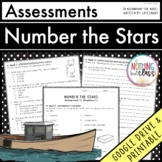 Number the Stars: Tests, Quizzes, Assessments