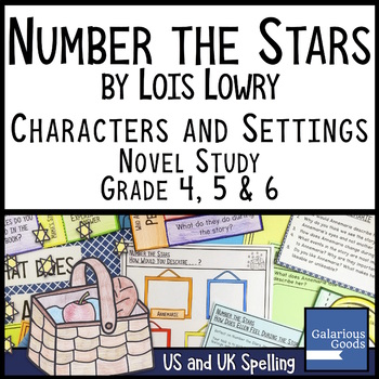 Number the Stars Novel Study: Characters and Settings