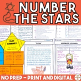 Number the Stars (Print and Digital Activities)