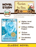 Number the Stars {Novel Study, Picture Dictionary, & Antique Writing Project}