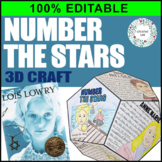 Number the Stars - Novel Study Project Craft - 100% EDITABLE