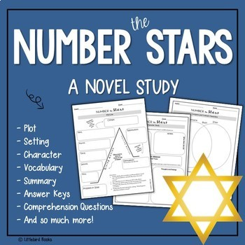 Number the Stars Complete Literature Unit with Focus on Context Clues