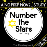 Number the Stars Novel Study | Distance Learning | Google Classroom™