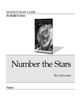Number the Stars Novel Unit/Study Guide