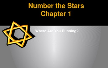 Number the Stars Novel Vocabulary