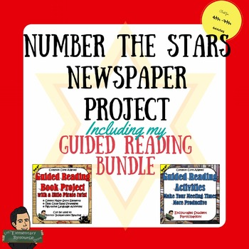 Number the Stars Project and Guided Reading Activities Bundle