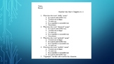 Number the Stars Quiz Chapters 6-11