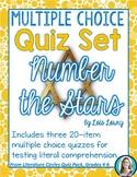 Number the Stars Quiz Set * Novel Quizzes
