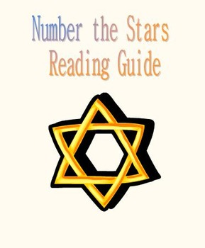 Number the Stars Reading Guide - CCSS Aligned