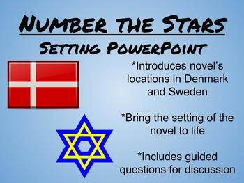 Number the Stars: Setting Power Point