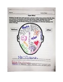 Number the Stars - Split Open Mind Graphic Organizer w/Les