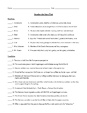 Number the Stars Test/Assessment with Detailed Answer Key