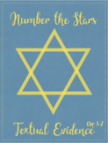 Number the Stars Textual Evidence activity