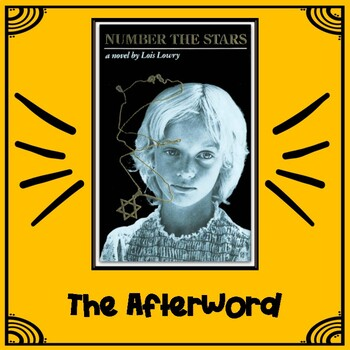 """Number the Stars, """"The Afterword"""""""
