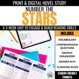 Number the Stars Novel Unit + Digital Novel Study for Google Classroom