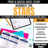 Number the Stars Novel Unit + Digital Novel Study for Goog