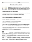 Number the Stars: Twelve Essay Prompts with Condensed Rubric