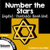 Number the Stars [Lois Lowry] Digital + Printable Book Unit