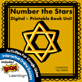 Number the Stars Novel Study: Digital + Printable Book Uni