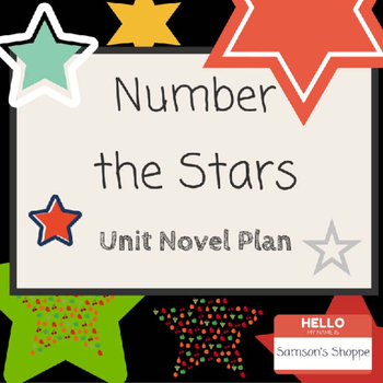 Number the Stars Unit