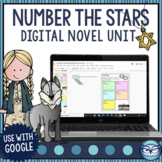 Number the Stars Novel Study - Print and Digital with Goog