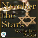 Number the Stars Vocabulary Packet