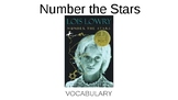 Number the Stars Vocabulary PowerPoint