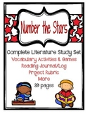 Number the Stars Set- Vocabulary Activities, Literature Circle Journal & More