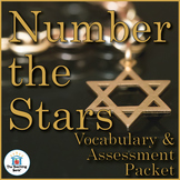 Number the Stars Vocabulary and Assessment Bundle