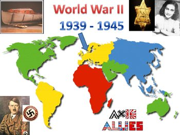Number the Stars and World War II Power Point