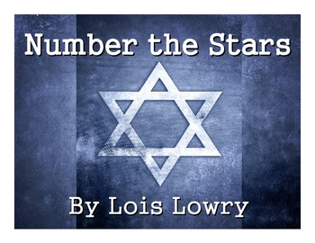 Number the Stars by Lois Lowry Unit Study