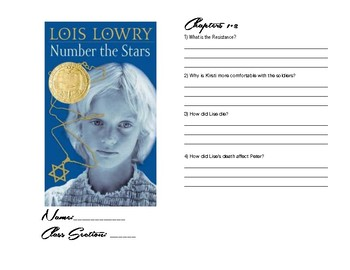 Number the Stars reading booklet