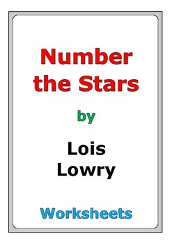 """Lois Lowry """"Number the Stars"""" worksheets"""