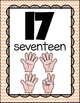 Number to 20 Posters {Chevron Classroom Set}
